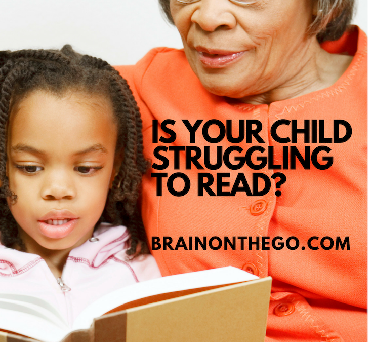 Does your child struggle to read?