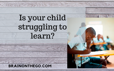 Is your child struggling to learn?